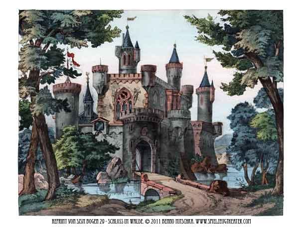 Schloss im Wald - Hintergrund