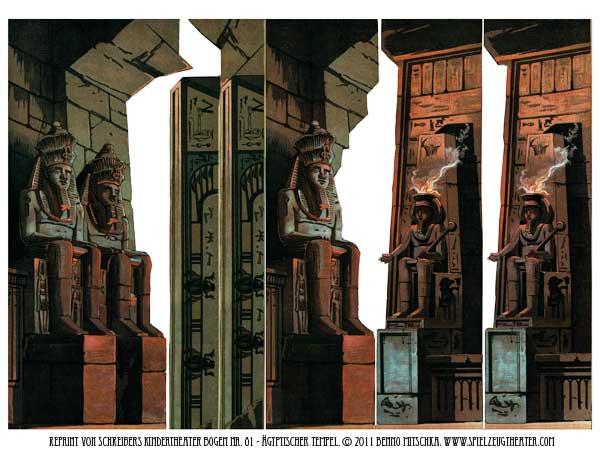 Ägyptischer Tempel - Nr. 81