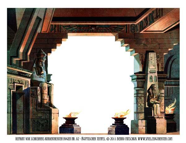 Ägyptischer Tempel - Nr. 82